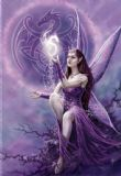 Anne Stokes- Draco Faerie- fantasy greetings card